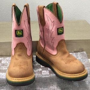 John Deere children's size 11.5 boot